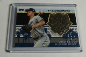 COREY-SEAGER-2017-TOPPS-ALL-STAR-GAME-MEDALLION-34-50-DODGERS