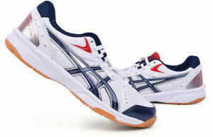 Details about ASICS RIVRE CS Badminton Shoes Unisex Indoor Shoes White Volleyball TVRA03-0150