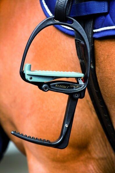 Horseware RAMBO leggero EasyUp Staffe Ferri da Stiro a discesa NERA FACILE MONTAGGIO