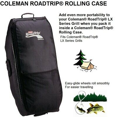 Road Trip Rolling Case Lifting Durable Zipper Strong Web Handle LX Series Grills