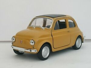 1-34-FIAT-NUOVA-500-CLASICO-COCHE-DE-METAL-A-ESCALA-SCALE-CAR-DIECAST-1-32