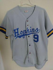innovative design ae8f3 776da NCAA Johns Hopkins Blue Jays # 9 Game Used Baseball Jersey ...
