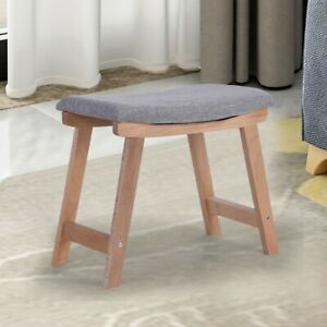 Magnificent Vanity Wood Dressing Stool Padded Chair Makeup Dressing Machost Co Dining Chair Design Ideas Machostcouk