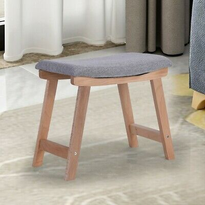 Swell Vanity Wood Dressing Stool Padded Chair Makeup Dressing Machost Co Dining Chair Design Ideas Machostcouk