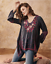 Embroidered-Shell-JOHNNY-WAS-Blouse-WISH-STITCH-V-Neck-Tunic-Cupra-XS-278 thumbnail 6