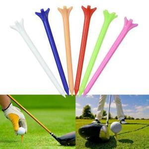 70mm-Plastic-Golf-Tees-Random-Mix-Colours-10-100-Qtys