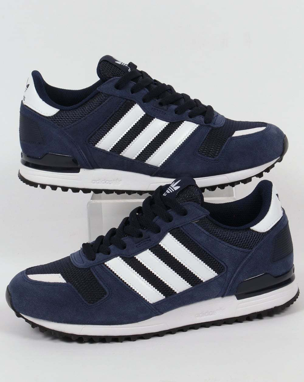 sale online stable quality uk store Adidas Originals - Adidas ZX 700 Trainers in Navy & White ...
