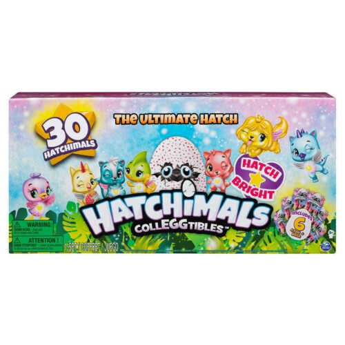 Hatchimals saison 4 colleggtibles l/'ultime Hatch 30-Pack Bonus hatchimal