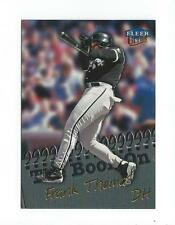 1999 Ultra The Book On #3 Frank Thomas White Sox
