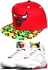 afd02ace0f207c Chicago Bulls Mitchell   Ness 9FIFTY New Era SnapBack Match Hare Jordan  Retro 7