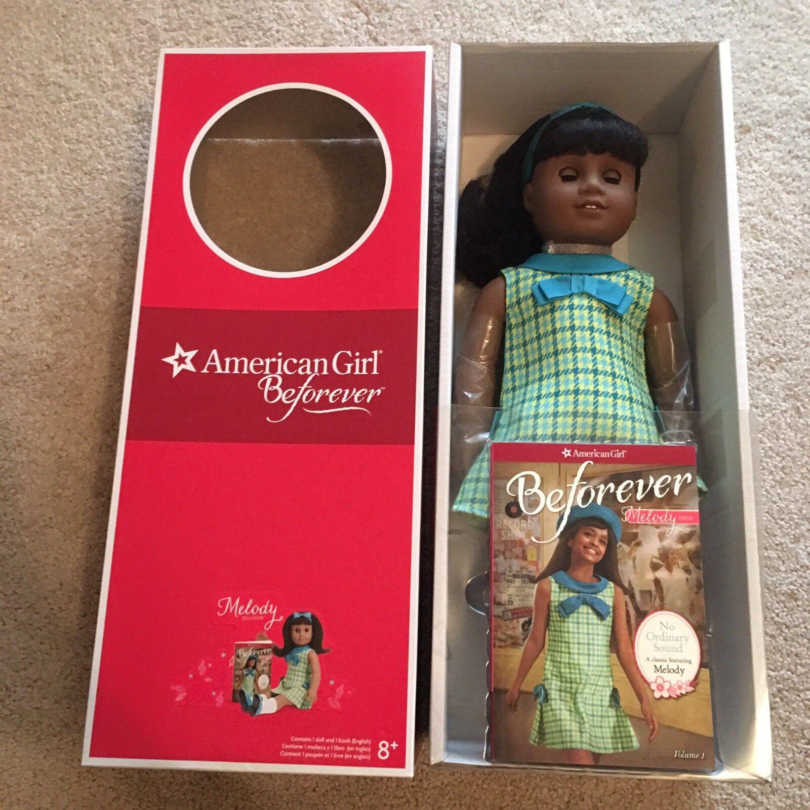 American Girl Doll beforever melodía Muñeca 18 Nuevo en Caja Nuevo En Caja