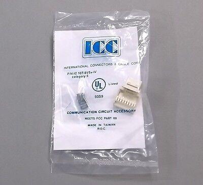 ICC ICC-CAT5JACK-GN IC1078E5GN Cat5 Jck GREEN
