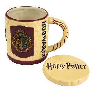 Caricamento dell immagine in corso Harry-Potter-Hogwarts-torre-tazza -con-coperchio-in- 63522f9ccc16
