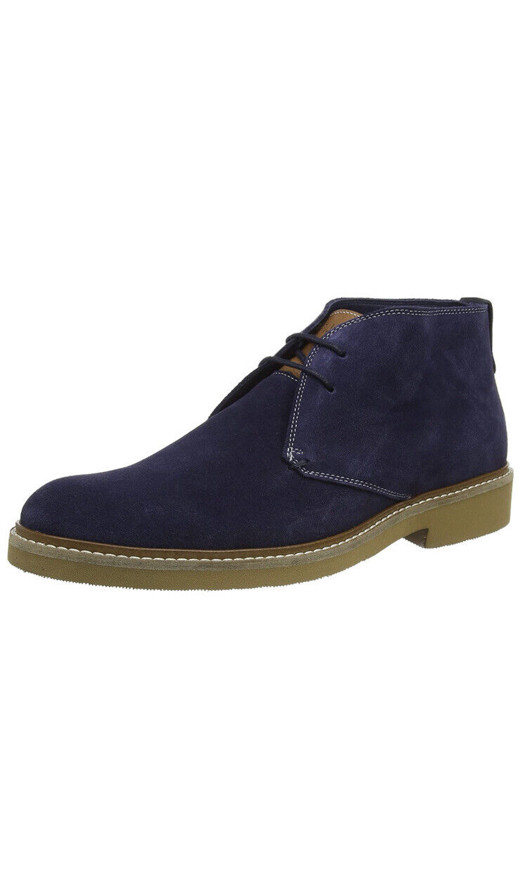 Ted Baker Men's ARGUILL Ankle Boots Navy Suede [1925] UK 12 EU 46 (RRP (129.00)