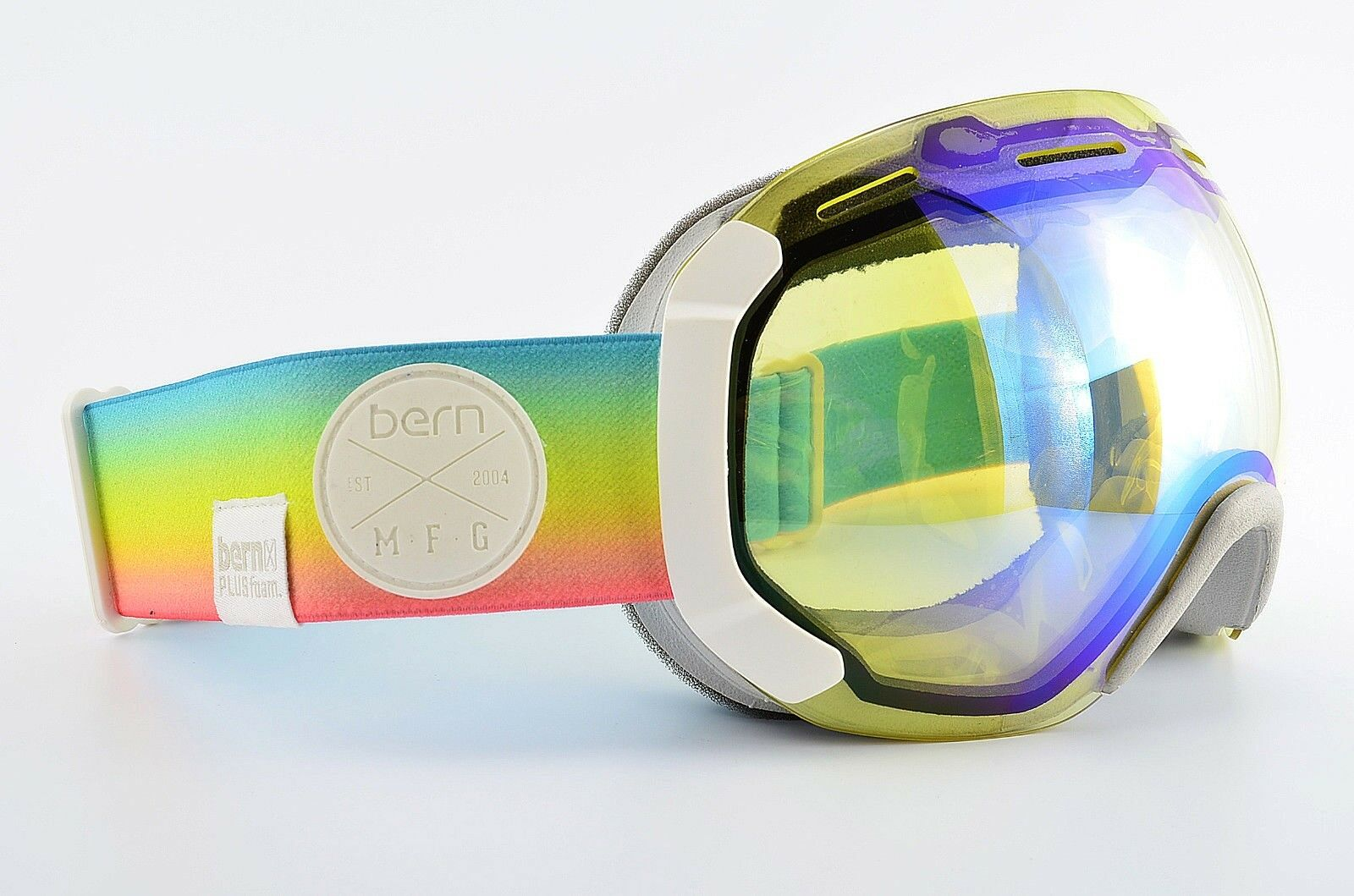 Bern Ski Brille Modell Pulsfoam MFG Snowbard Sport Ski Mask NOS color Rainbow