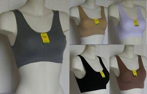 2-Brassiere-Reggiseno-Microfibra-Top-Sport-Fitness-BIXTRA-B127A-Tg-M-L-XL-XXL
