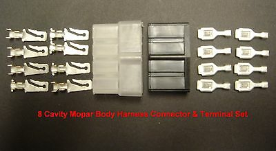 NORS 1966 - 1971 Mopar Body Wiring Harness Connector Set Dodge Plymouth Chrysler