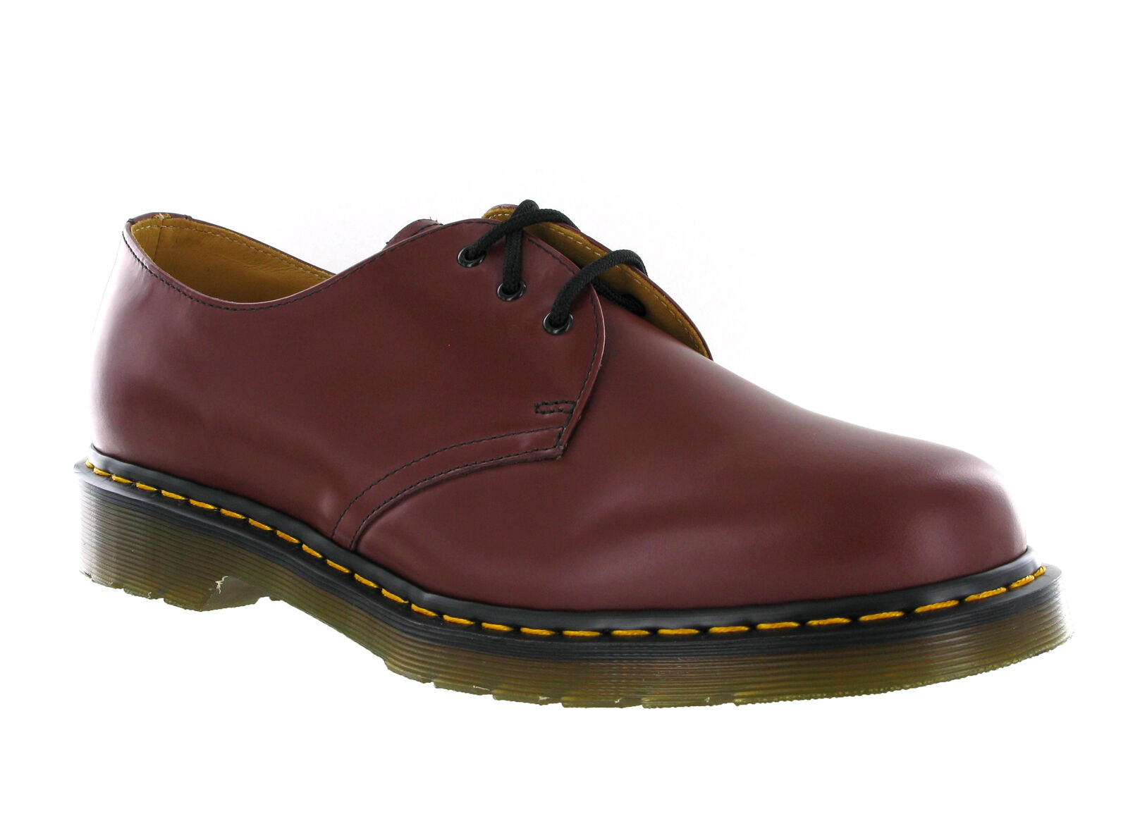 dr martens 1461 3 eye cherry smooth leather formal