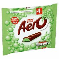 Nestle Aero Mint Chocolate 4 Pack British Food Cookies Cakes Candy Free Shipping