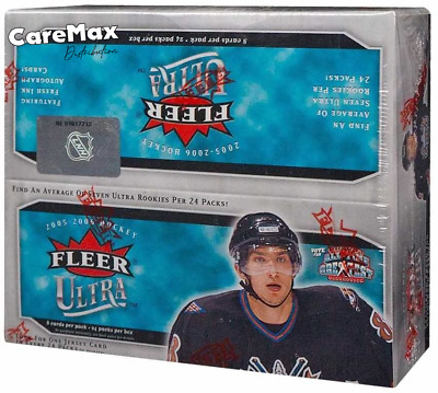 2005-06 Fleer Ultra Hockey 24 Pack Retail Box