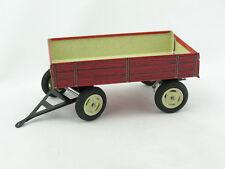 rot//gelb von Kovap Blechspielzeug Traktor Zetor mit Anhänger