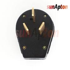 50 Amp 220 Volt 3 Prong Plug Replacement Electrical Rv Welder 220v 2 95inch For Sale Online Ebay