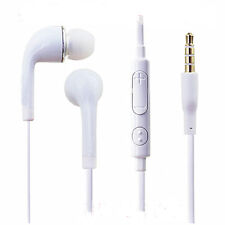 For Samsung Galaxy S3 S4 S5 Note 2 3 Stereo Headphones Earphones Handsfree Mic