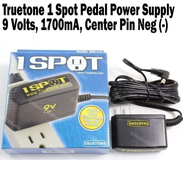Visual Sound 1 Spot Guitar Effects Pedal Power Supply Adapter Nw1 US  Truetone