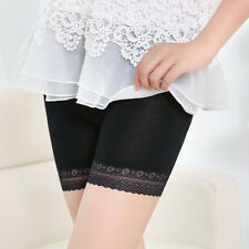 Women Lace Tiered Skirts Seamless Underwear Safety Pants Dancing Sport Shorts B1