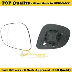 plate Right side Wide Angle Wing mirror glass for Jaguar S-Type 02-08 heated