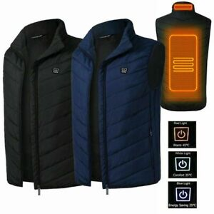 Electric Vest Heated Cloth Jacket USB Thermal Heated Pad Winter Body Warmer Hot