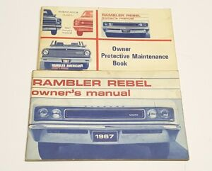 1964 AMC American Owners Manual User Guide Reference Operator Book Fuses Fluids
