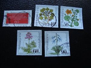 Germany-Rfa-Stamp-Yvert-and-Tellier-N-939-A-943-Obl-A3-Stamp-Germany