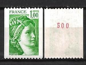 Francia-1978-Yvert-n-1981Aa-nueva-1er-eleccion