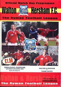 B20-Walton-amp-Hersham-v-Thame-United-27-04-02-Isthmian-League-Division-1