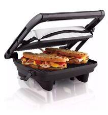 Hamilton Beach Panini Press Gourmet Sandwich Maker Grill Toaster Easy Clean NEW