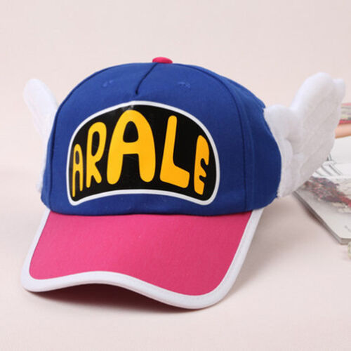 Arale Princess Casual Sunhat Cosplay Kids Adults Ladies Snapback Peaked Cap Hat
