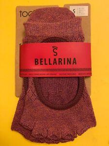 toesox-Women-039-s-Bellarina-Grip-Socks-Half-Toe-Non-Slip-Organic-Cotton-S