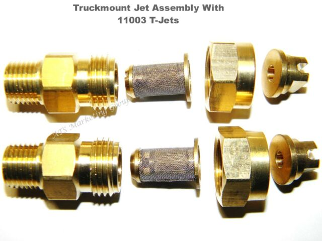 Truckmount 11003 T-Jet Assembly for wands Carpet Cleaning