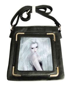lateral bolsa 5053243128388 Vegan Soul 3d Winter Caszmy gótica Fantasy Black Ladies Fashions OCHB8qz