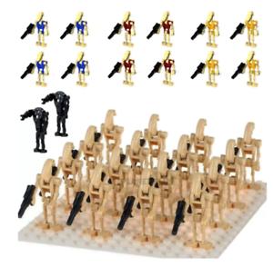 16pcs-set-Lego-Moc-Minifigures-Super-Star-War-Battle-Droid-New-children-039-s-toys
