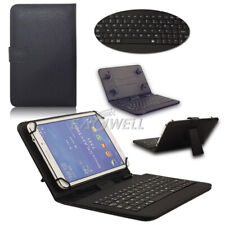 US for Samsung Galaxy Tab E Lite 7.0 Sm-t113 Folio Leather Keyboard Cover Case