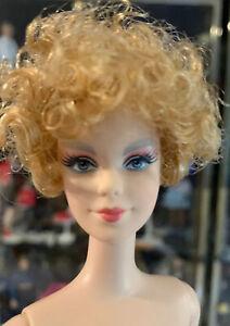 NUDE Barbie Effie Trinket strawberry blonde Hunger Games