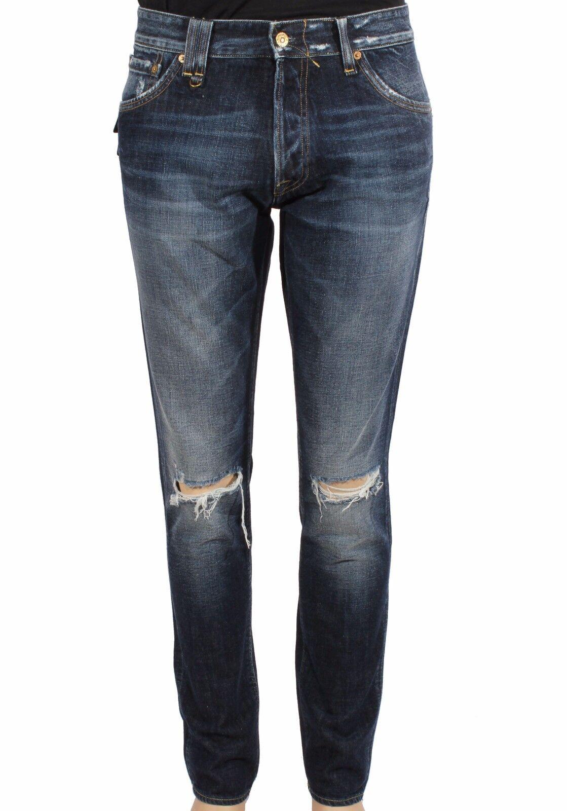 Men's Jeans CYCLE MPT170 D1079 2881 Denim Cotton 11OZ Real Indigo LIST PRICE