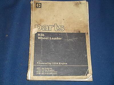CAT CATERPILLAR 936 WHEEL LOADER PARTS BOOK MANUAL S//N 45Z