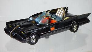 1960s CORGI TOYS 267 BATMAN BATMOBILE Rocket cottura giocattolo raro vintage Diecast