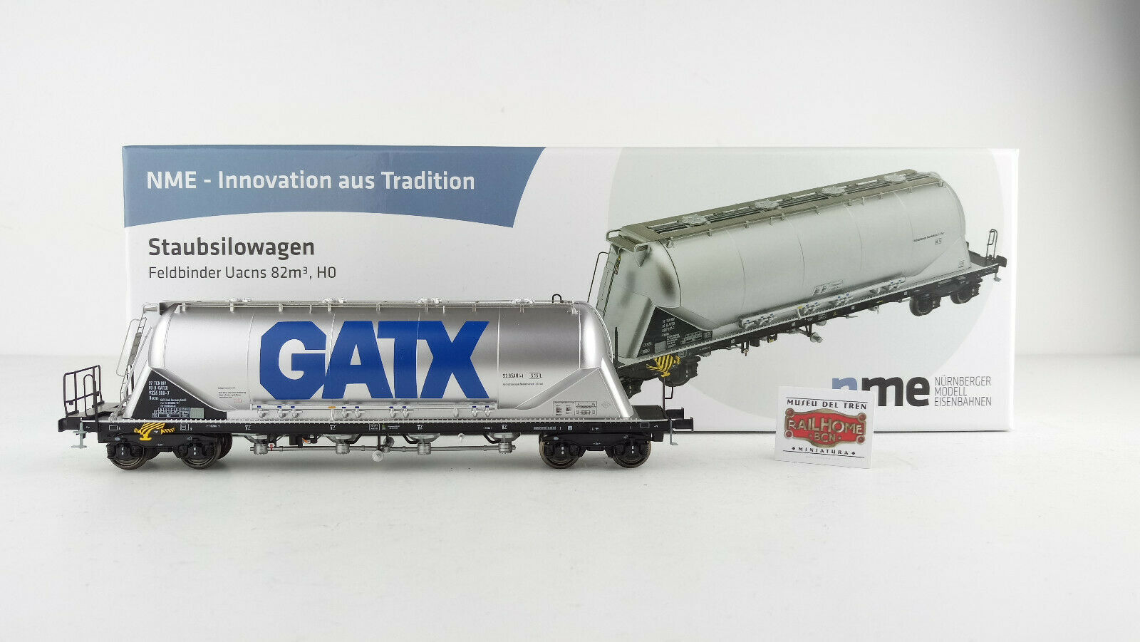 Nme H0 503719  Staubsilowagen Uachs  Gatx  Ep. VI  Nuovo