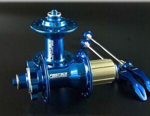 FASTACE 4 Bearing Hub 32H MTB Road Bike disc brake Hubs w//Skewers Front Rear set