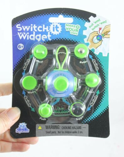 1 Design Your Own Fidget Cube Block Classroom Anxiety ADHD Hand Fidget