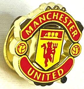 Manchester United Pin-Flagge Offiziell Abzeichen Verein Wappen Logo für Das Fans